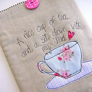 'A Nice Cup Of Tea' Case For ⅰpad - laptop bags & cases