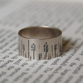 Sterling Silver Winter Ring