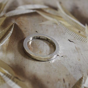 Personalised Secret Love Ring - rings