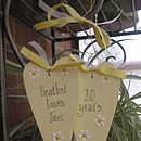 Wedding Anniversary Hearts
