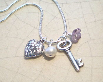 Charm Key Necklace
