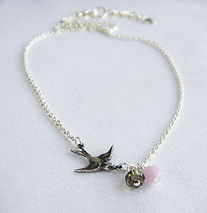 A Little Bird Told Me So Necklace