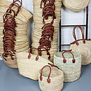 Souk Moroccan Shopping Basket