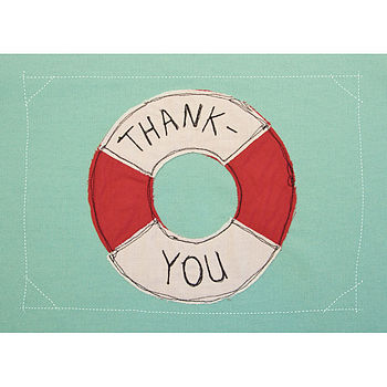 Postcards: Thank You - Buoy