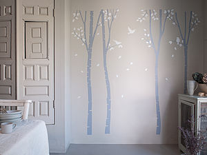 Enchanted Forest Wall Stickers - bedroom