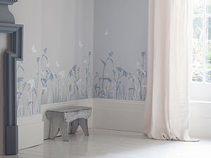 English Meadow Wall Stickers - decorative accessories