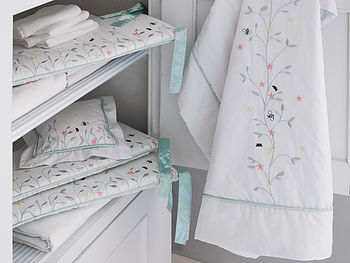 Luxury Organic Secret Garden Baby Bedding Set