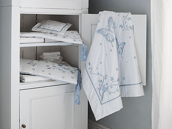 Butterfly Luxury Organic Baby Bedding