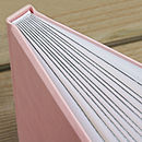 Baby Pink Pastels cover with silver Gilt edges