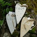 'Love' Heart Decoration