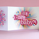 'Nine Months In The Making' 3D Greetings Card