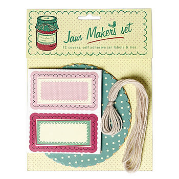 Vintage Style Jam Making Set