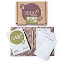 Herb seed pack included