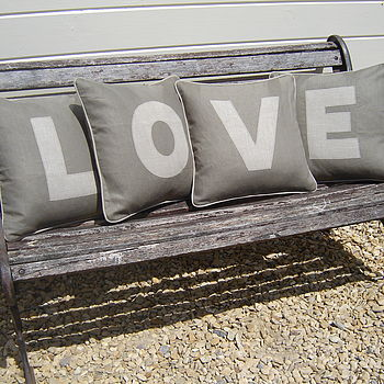 Appliqued Cushions