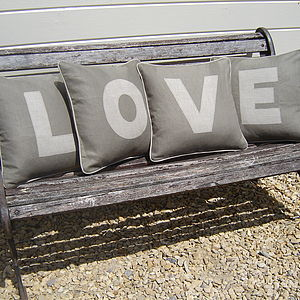 Appliqued Cushions - practical & personalised