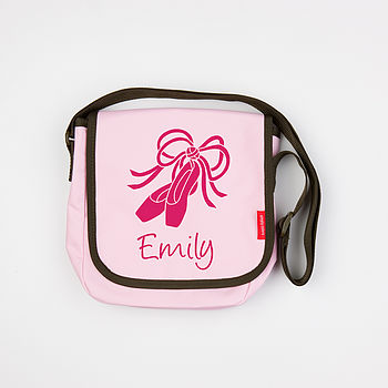 Personalised Children's Messenger Bag - Small, Light Pink