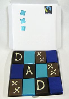 Father`S Day Chocolate Truffles
