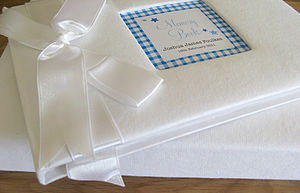 Baby Record / Christening Guest Book - keepsakes
