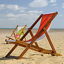 wightsails own and funky deckchair