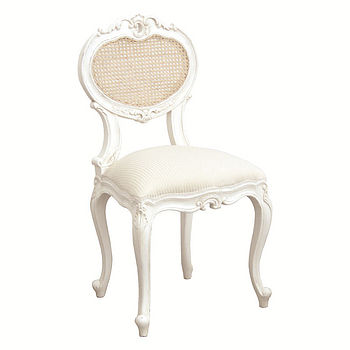 Chateau Bedroom Chair With Rattan