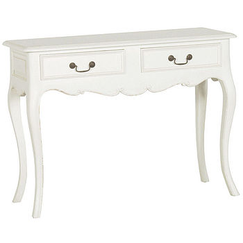 Chateau Two Drawer Hall Table