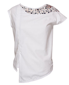 Charis -Thirties print Cotton Top (front)