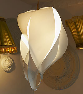 Flame Light Shade - bedroom