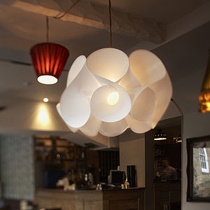 Swirl Light Shade - bedroom