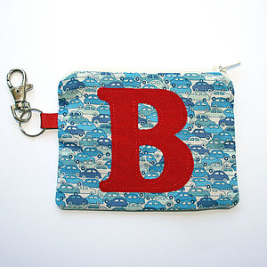 Personalised Boy's Purse - Blue Cars - bags, purses & wallets