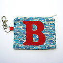 Personalised Boy's Purse - Blue Cars