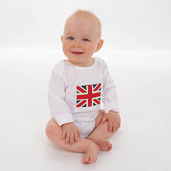 Union Jack Bodysuit