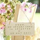 Bespoke Memories Sign