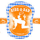 'Ride A Dad' Horse And Rider Set