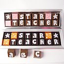 Personalised Chocolates For Teachers