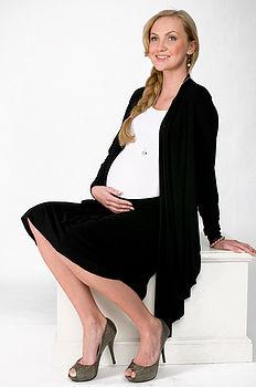 Flirty Maternity Skirt