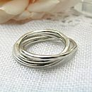 Dappled Silver Ring