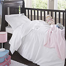 Organic Cotton Sateen Nursery Collection