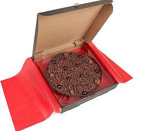 Delightfully Dark Chocolate Pizza - chocolates & confectionery