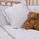 Dotty Cot Bed Quilt