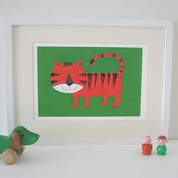 Terence The Tiger Fine Art Print