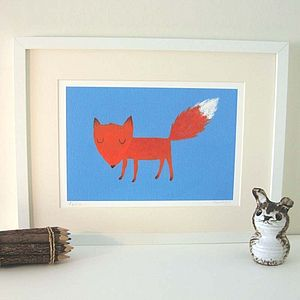 Felix The Fox Fine Art Print