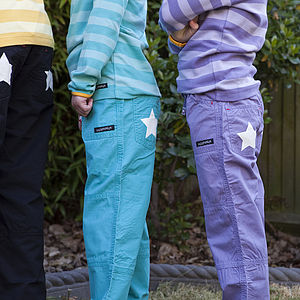 Child's Cotton Canvas Trousers