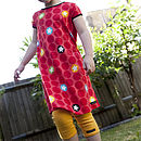 Dots And Stars T Shirt Dress