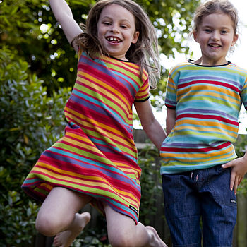 SAVE 40% - Multistripe Child's T Shirt