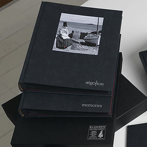 Handbound Photo Album With Presentation Box