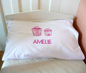 Personalised Printed Pillowcases - bed linen & cot bedding