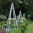 Painted Garden Obelisk