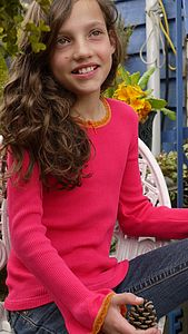 Childs Mini Ruby Long Sleeved Top - shop by price