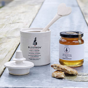 Pure Welsh Honey Set - jams & preserves