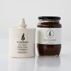 Welsh Apple Chutney Set - foodie gifts